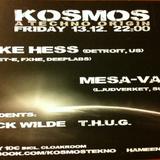 DJ Mesa-Vatti - Live @ Kosmos, Club10, Tampere (13 Dec 2013)
