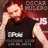 Oscar Mulero - Live @ Vicious Live, Madrid (20.06.2013)