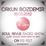 Orkun Bozdemir - FG Sunday Residents - 18.03.2012- SOUL REVUE RADIO SHOW