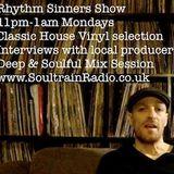 Rhythm Sinners Radio Show 001 - Part 1 - 27/02/17
