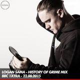 Logan Sama - History of Grime - BBC 1xtra - 22.08.2015