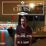 Donagrandi Live @Kingsnight Cruise Amsterdam Supperclub Cruise 26-04-16