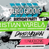 Davor B @ Stereo Groove 1-st B-day (11.3.2016)