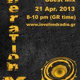GL0WKiD Generation X [RadioShow] pres. ExitPoint (UK) GUEST-21APR.2013