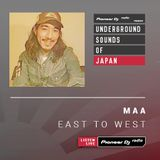 Maa - East To West #005 (Underground Sounds of Japan)