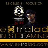 EXTRALAD radio show on B BOYZ RADIO - Puntata 01 – Focus on – SIGNOR WOLF FUNK EXP