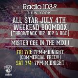 @DJMisterCee 4th Of July Weekend Boombox Mix (7-3-15)