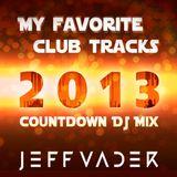 jeffvader-favoritetracks2013