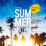 SUMMER SIXTEEN MIXED BY ARABIKA & KEN-J