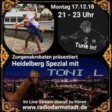 Zungenakrobaten Episode 128 - Heidelberg Spezial mit Toni L & DJ Miki Leaks