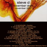 Steve D - November Drain (November 2016)
