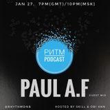 Ритм #67 (Paul A.F guest mix)