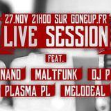 """Gone Up """"All-Star"""" Live Session #01 - DJ Maltfunk's Set"""