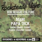 03 Papa Dick round part 1 - Bdn Reggae Culture 46th Edition - Rocksteady Night part 2