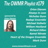Playlist #179 Sponsored by Orion Diaram