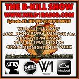 THE B-KILL SHOW Ep47 - Hip-Hop Scratch