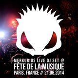 Merkurius live @ Fête De La Musique 2014 (Paris, France)