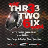 The Thr33 two 6ix Show july 9th 2016 King Reign special with Chris GotRocks, Mic Boogie & Dj Shortcu