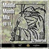 Radio & Podcast : DJ Nederfolk : Middle Month Mix Septembre 2018