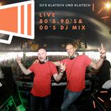 DJ's Klatsch und Klatsch - Live Mix @Effenaar Eindhoven - 80's, 90's & 00's