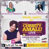 Christy Amalu on London Hott Radio 071117