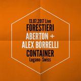 Container - Lugano - Swiss - Forestieri Live @ ABERTON + ALEX BORRELLI 13.07.17