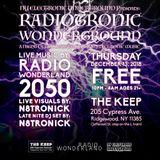 RADIO WONDERLAND LIVE! @ RADIOTRONIC WUNDERGROUND_12-13-2019