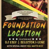 Dj Esef Full Watts and Selector I-Lone Live @ Foundation Location inside Press Club 11/5/2014
