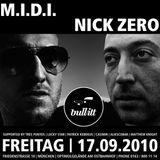 M.I.D.I. & Nick Zero @ Bullitt Club - Munich (Germany)