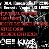 Rumble Records Vappu UG 30.04. - Pulseye b2b Destroy