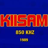 KIIS AM 850 Los Angeles 1989