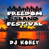 PM17:00 DJ KOHEY-SOUNDTRACK OF FREEDOM iSLAND FESTIVAL