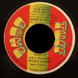 "Bob & Rita Marley ws Melody Makers - ""Trodding"" / ""Trod It"" 7 Inch (Tuff Gong) 1980"