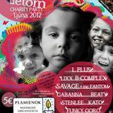 Savage + MC Fantom live at Without Help - Club Avalon - Zlate Moravce, Slovakia 20120601