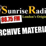 Sunrise 88.7FM - 92' - Hardcore / Jungle