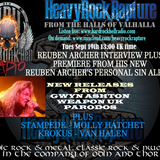 Hard Rock Hell Radio - Heavy Rock Rapture - Sept 19 feat. Reuben Archer, Weapon UK, Gwyn Ashton