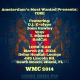 LIVE @ D'Vine Hookah Lounge (WMC 2014) - Amsterdam's Most Wanted Party