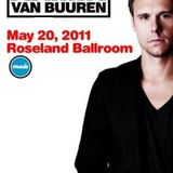 Armin Van Buuren Live @ Roseland Ballroom, New York, Sat 05, 20, 2011