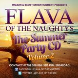 Flava Of The Naughtys - Summer Mix CD Vol.2