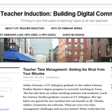 UTA Webinar 3: Advice on Classroom Management
