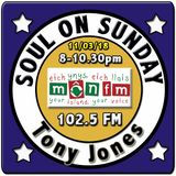 Soul On Sunday 11/03/18, Tony Jones, MônFM Radio * MAGIC MEMORIES * Northern Soul & Motown *