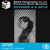 SarahCuda - 2018 WKDU Electronic Music Marathon