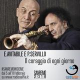 Sanremo 2018 - Intervista a Enzo Avitabile e Peppe Servillo - a cura di RadioSelfie.it
