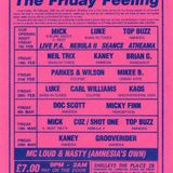 Side A - Bang In Tunes Presents The Friday Feeling @ Shelleys 14th February 1992