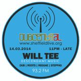 Dubcentral Radio - Will Tee 14.03.2014