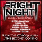 Frightnight Radio - The Second Coming! Darkside Jungle - Dave Faze
