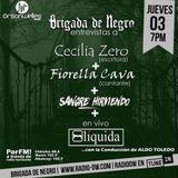 Brigada junto a Cecilia Zero+Fiorella Cava+Sangre Hirviendo+Liquida