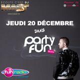DJ MAST - GENERATION 90 en live sur PARTY FUN