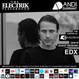 Electrik Playground 28/4/18 inc. EDX Guest Session