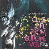 Dj Thomas Club Life From Europe 1